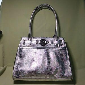Handbags - Nine & Co Silver Handbag